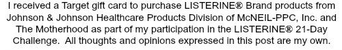 Listerine Disclosure