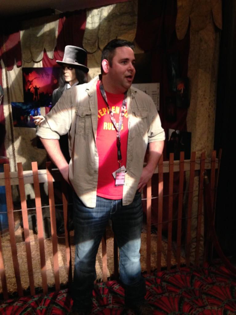 Halloween Horror Night Creative Director Michael Aiello