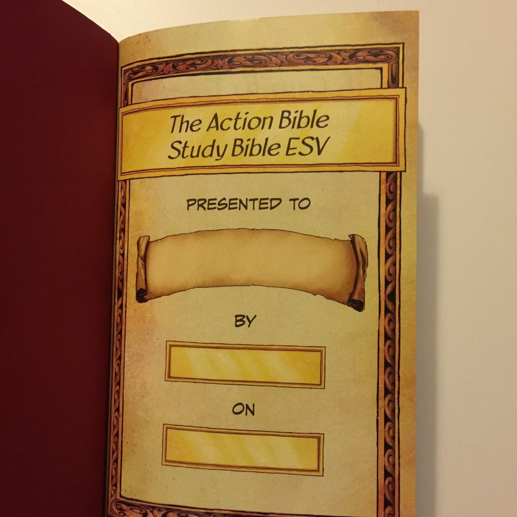 Action Bible Study Bible